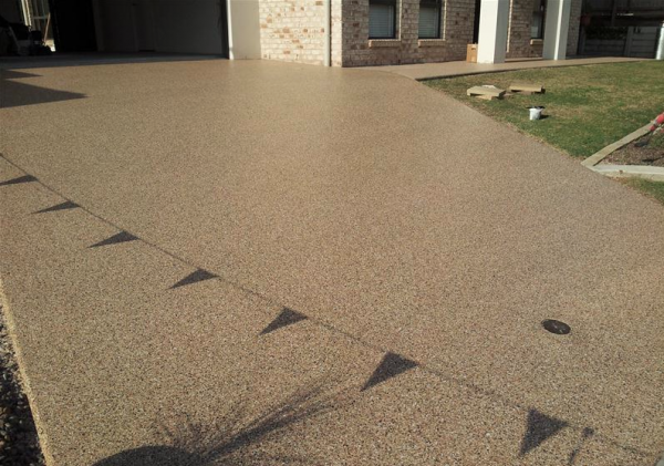Concrete Patio Covering Is Faded Can I Paint It